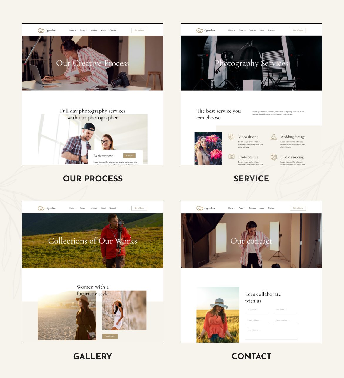 Queenlens | Photography & Event Elementor Template Kit - 3