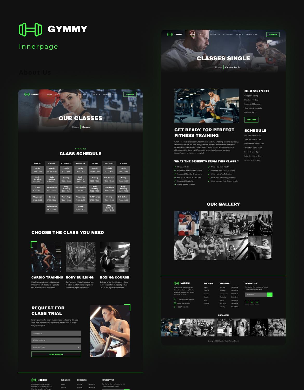 Gymmy | Sport & Fitness Elementor Template Kit - 4