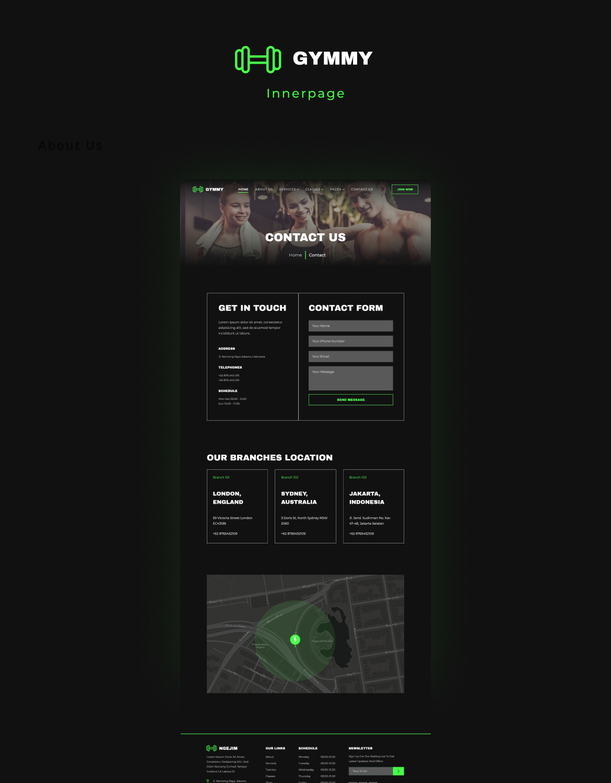 Gymmy | Sport & Fitness Elementor Template Kit - 6